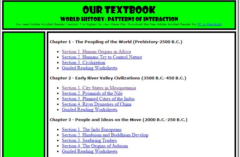 World History Teachers Blog Entire Patterns of Interaction – World History Patterns of Interaction Worksheets