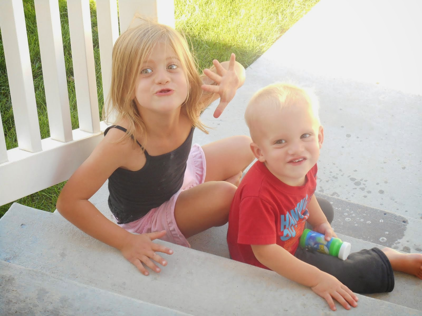 Our crazy kids!