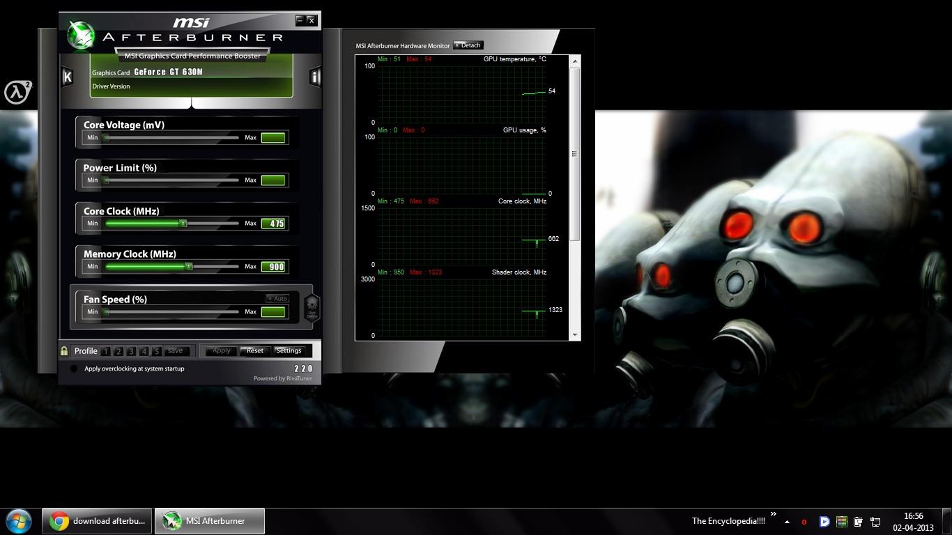 Gt 630 Overclock Msi Afterburner Karmashares Llc Leveraging Geforce 1gb Ddr3 It Kinda Look Like This