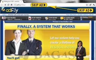 Cara Melewati link adf.ly