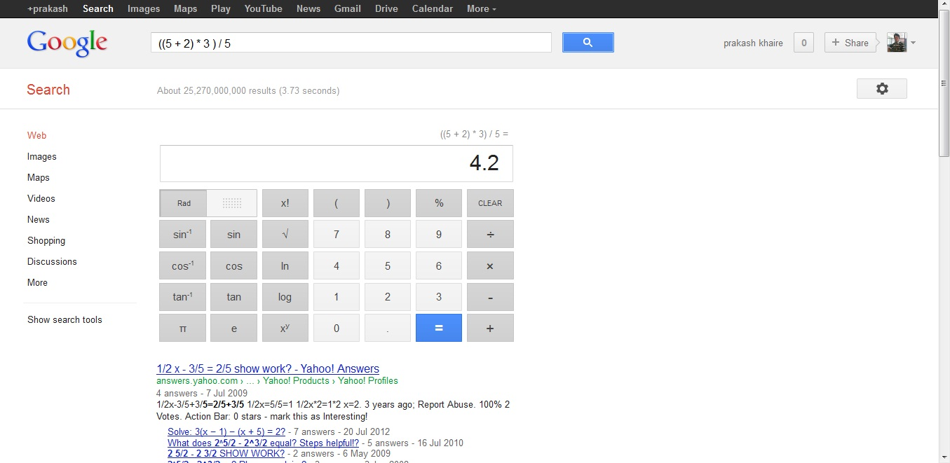 gadgettainment  search giant google adds 34 button virtual scientific calculator