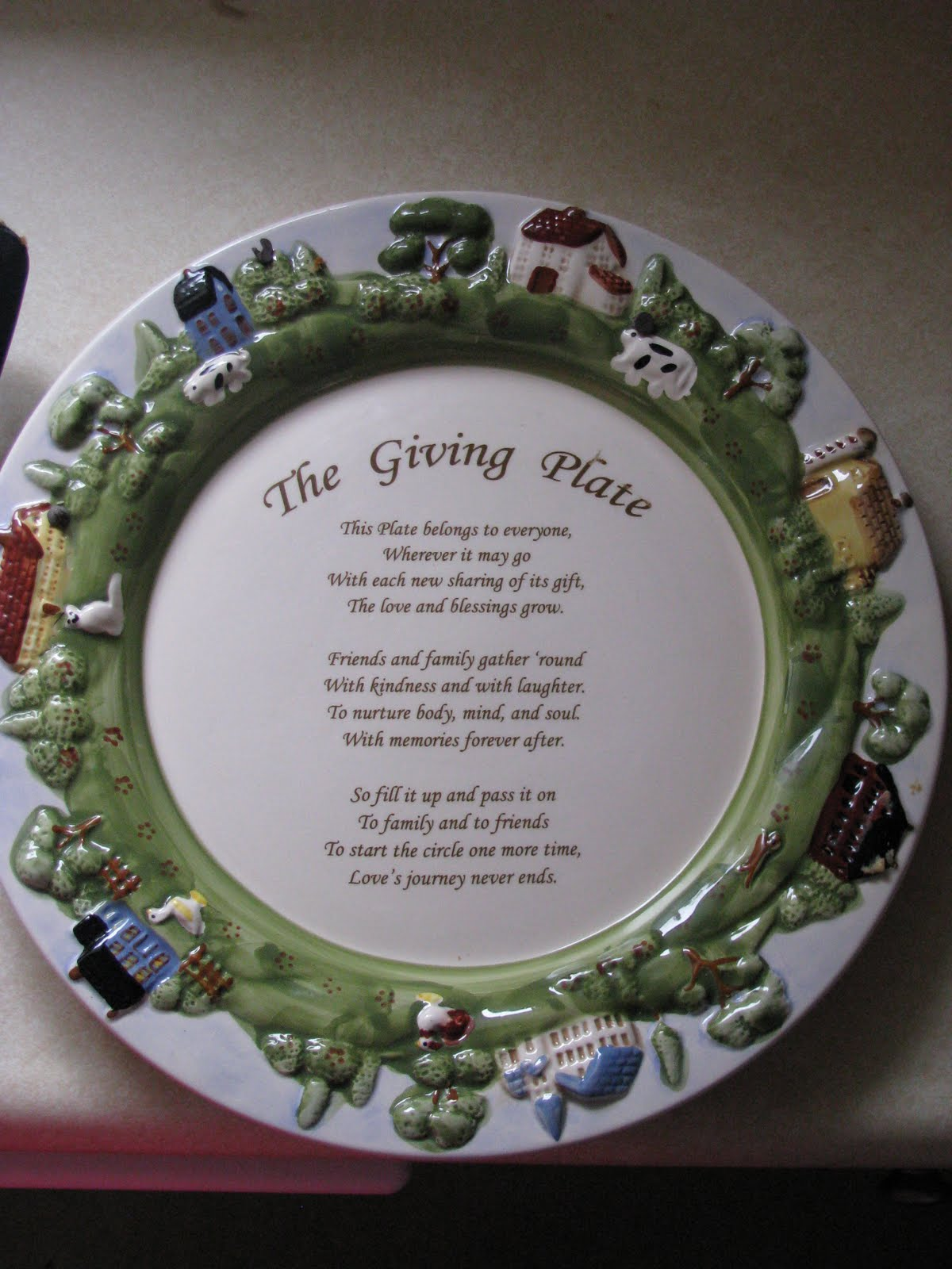 A Short Story The Giving Plate