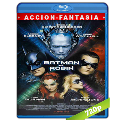 Batman 4 Y Robin (1997) BRRip 720p Audio Trial Latino-Castellano-Ingles 5.1