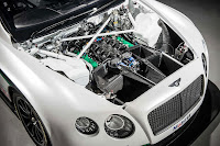 Bentley Continental GT3 engine