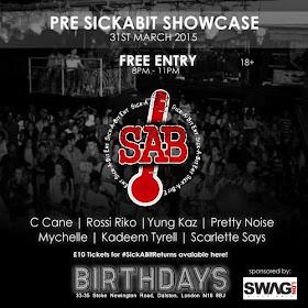 Pre SickABit Showcase
