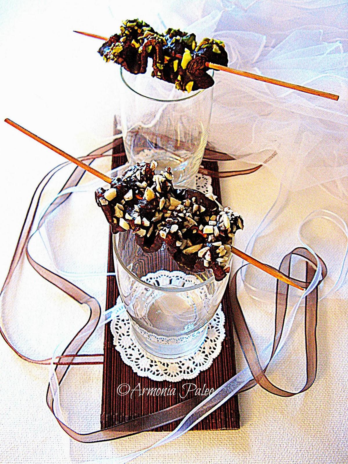 Spiedini di Pancetta al Cioccolato di Armonia Paleo