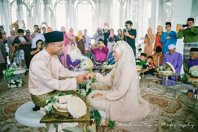 Gambar Perkahwinan Dr Ezani Masterchef dengan Dr Azrai
