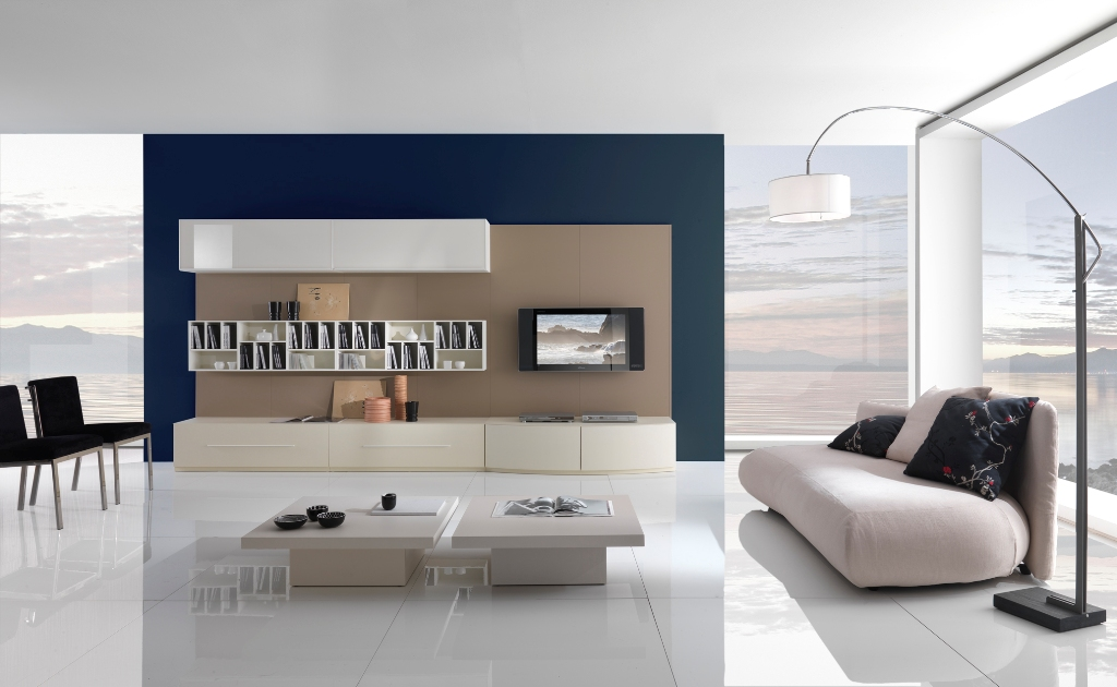 Modern living room interior designs with minimal furniture for Best minimalist furniture