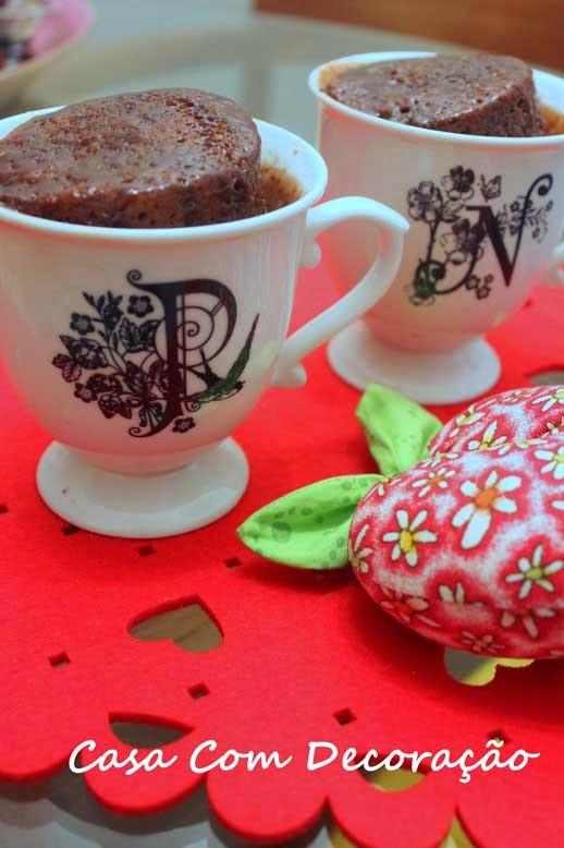 Receita Bolo de Chocolate ( de caneca)