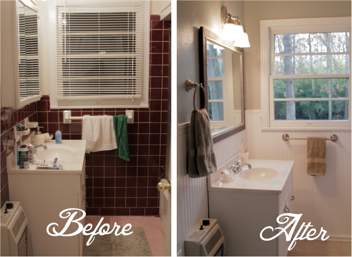Small Bathrooms Before And After small bathroom before and after