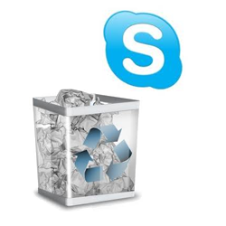 how to delete skype username autofill