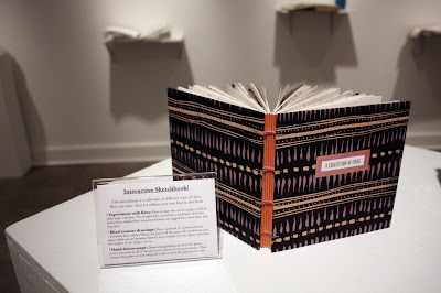 Katie Gonzalez handmade book at Sketchbook Collective