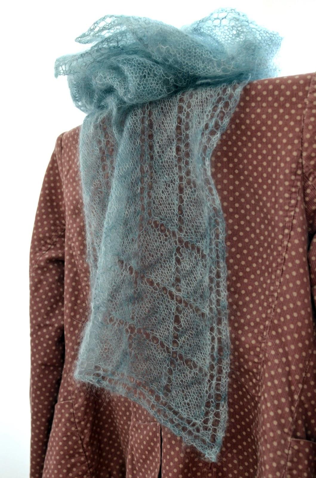 Scarf pattern from Katya Frankel