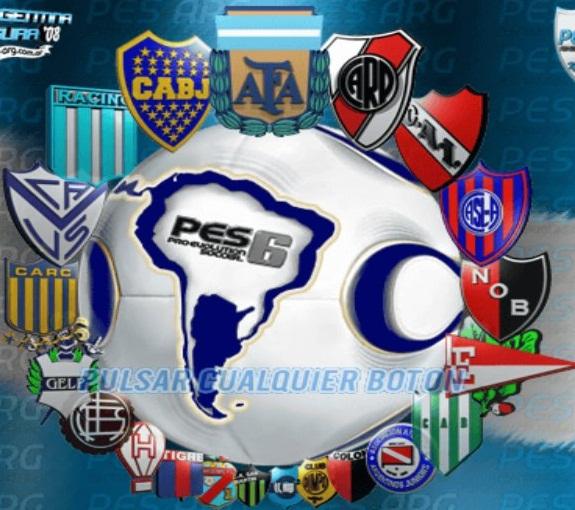El mejor parche para pes 6 liga argentina 20162017 video