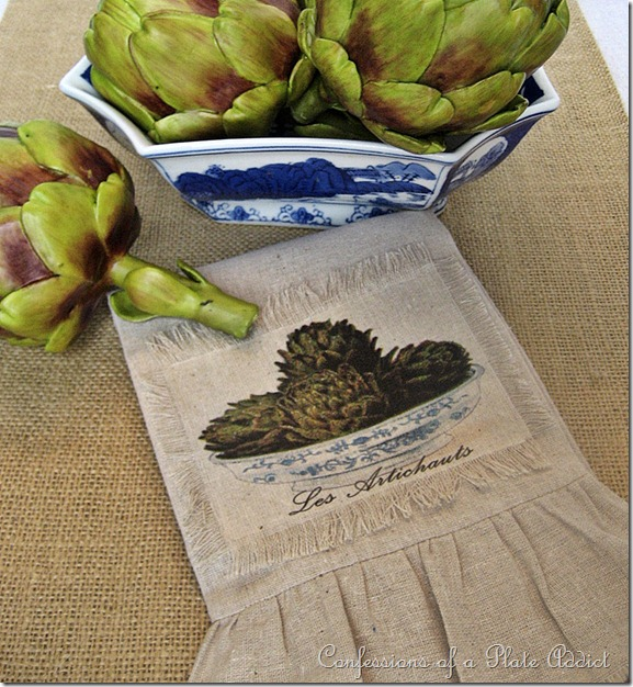 how to make artichoke tea