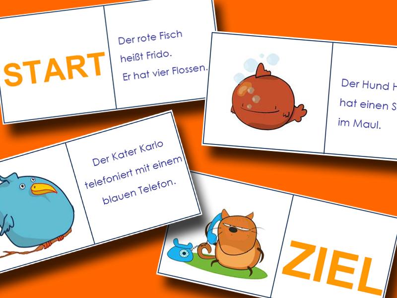 Arbeitsblätter und Material für die Volksschule: Leseverständnis ...