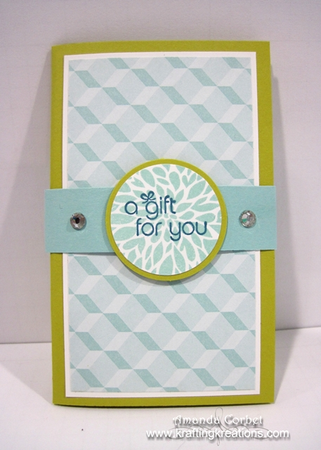 A Gift Card Holder for You!