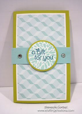 A Gift Card Holder for You