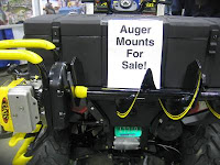 Snowmobile Ice Auger Holder1