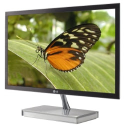 new LG E90 Ultra-Slim LED Monitor