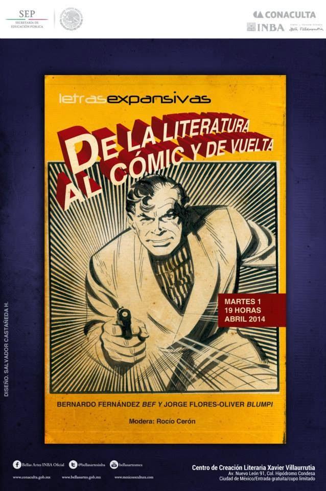 De la literatura al cómic y de vuelta en el @CCLXV
