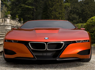 BMW M1 Hommage front end