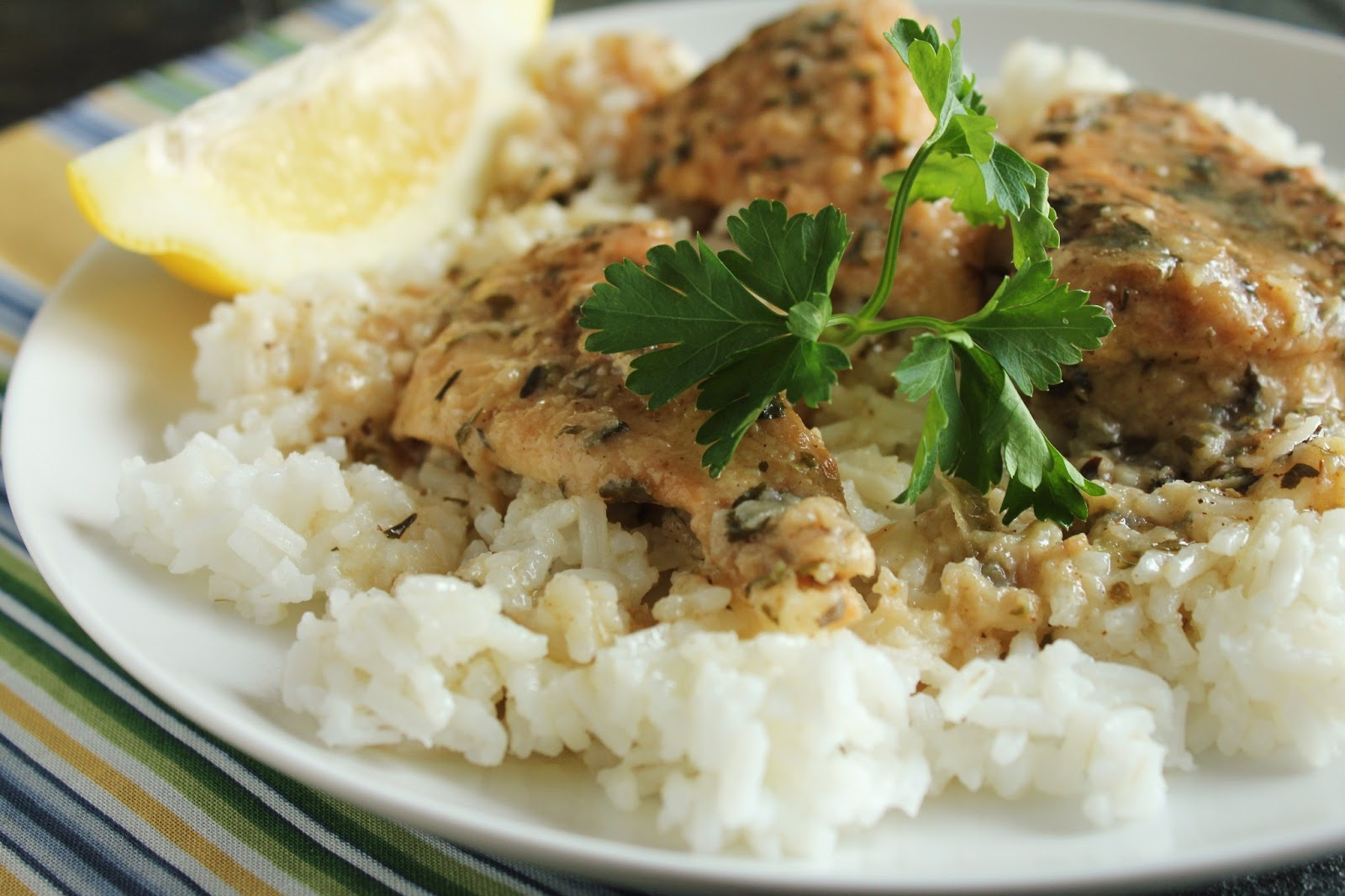 ... as it Looks: Low-Fructose Slow-Cooker Lemon Chicken (Gluten-Free Too