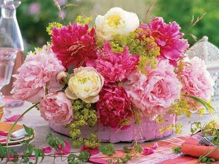 Ramo de flores para centro de mesa
