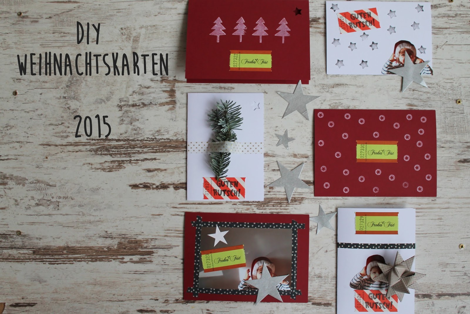 kleines freudenhaus diy weihnachtskarten. Black Bedroom Furniture Sets. Home Design Ideas