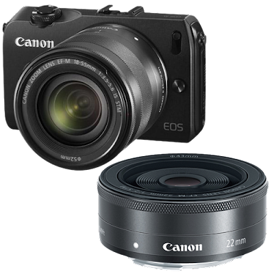 Canon EOS-M 18-55 Price In India