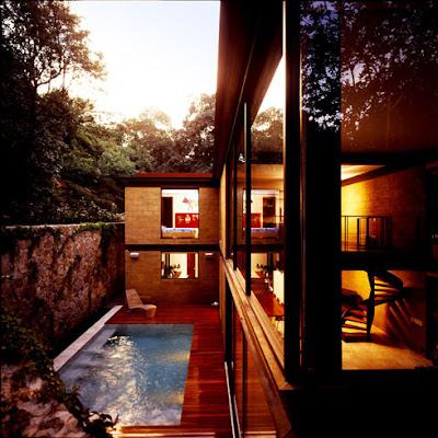 casa de campo estilo moderno