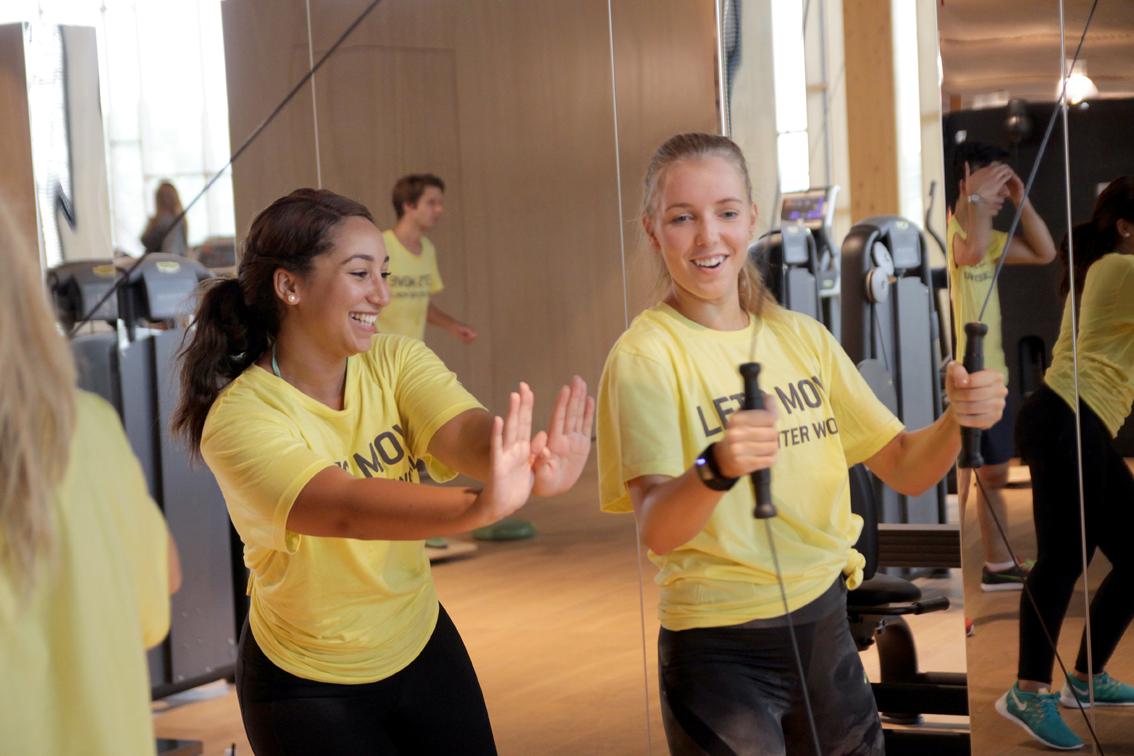 technogym workout