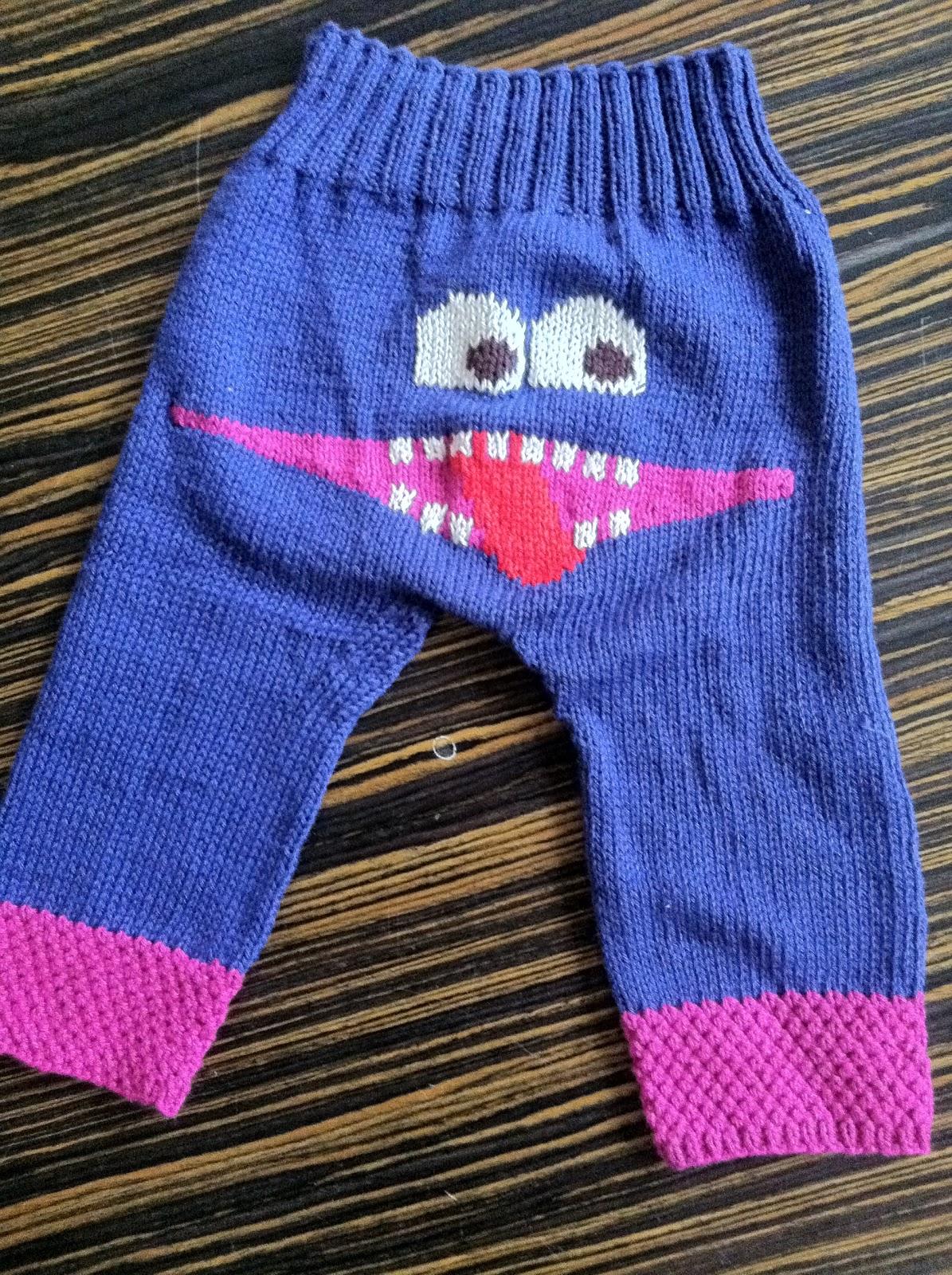 strik bukser baby