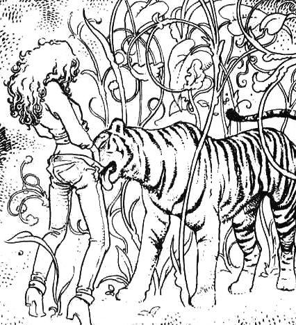 tu lo que quieres es que me coma el tigre