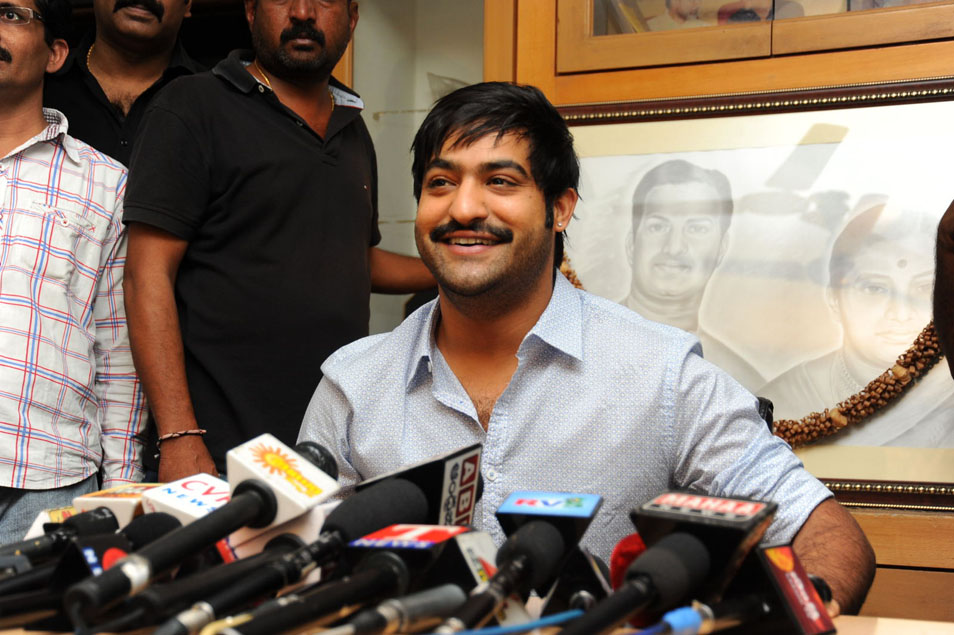 Ntr New Look Hairstyle Images The Galleries Of Hd Wallpaper