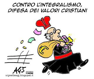 valori cristiani, CEI, integralismo islamico, terrorismo, vignetta satira