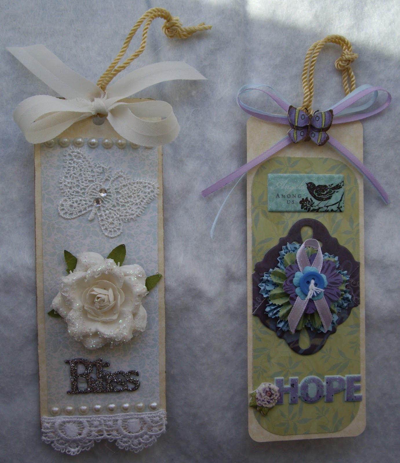 Creating with paper and bows april 2012 i also made some bookmarks to give as little easter gifts here is a peek at two of them ill share the rest of them and the details later in the week negle Images
