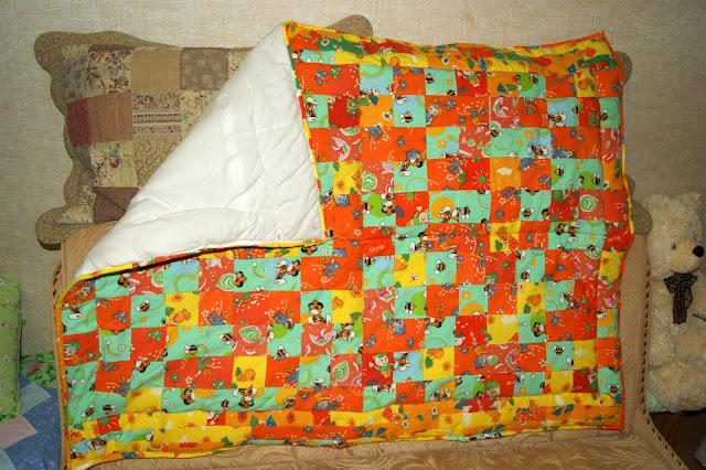 Сшить одеяло для ребенка своими руками 46