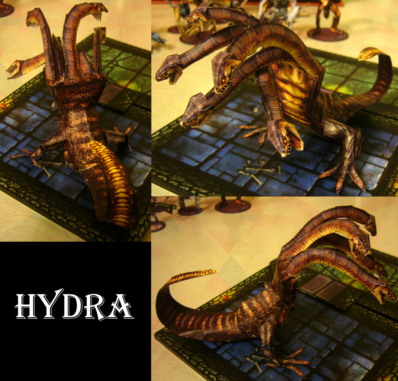Hydra Paper Model