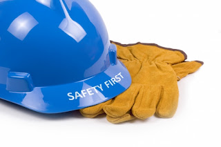 Safety First. Always wear proper Personal Protective Equipment (PPE).