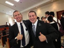 Missionaries are happy people