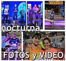 Carrera Nocturna de Aranjuez: Fotos y Video