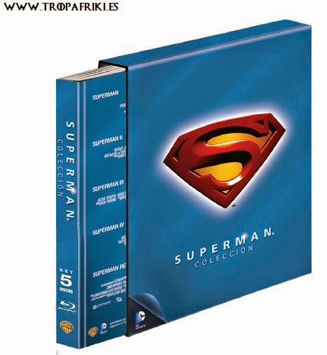 Pack Colección completa Superman Blue-Ray Pack incluye: Superman, Superman II, Superman III, Superman IV, Superman Returns.