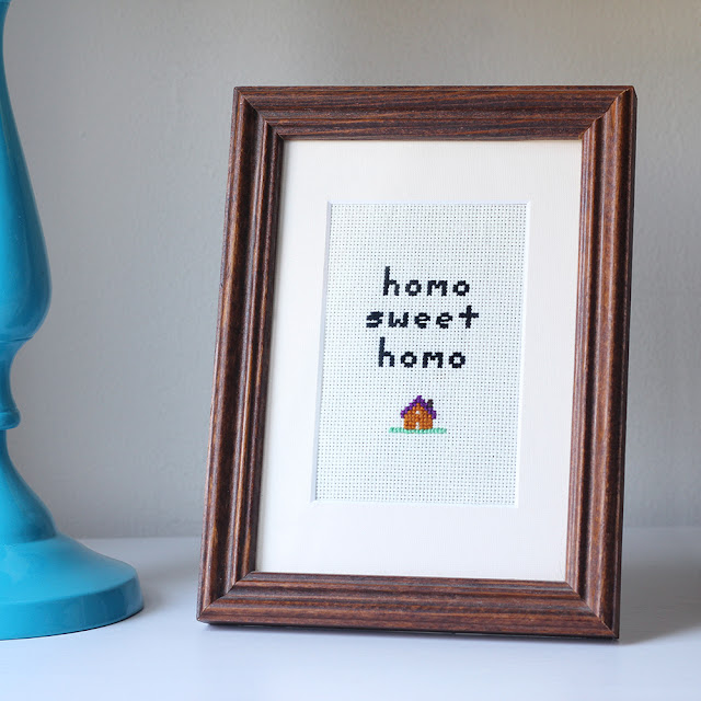 Homo Sweet Homo Sampler (+ free template!)