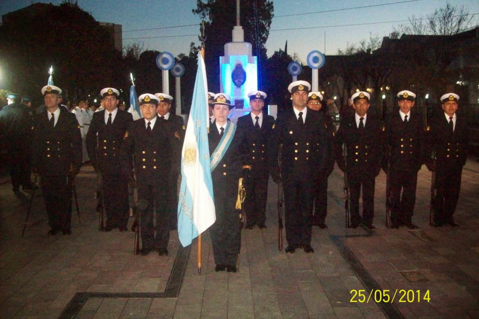 """Participación de la FAE3 en acto por el """"25 de Mayo"""""""