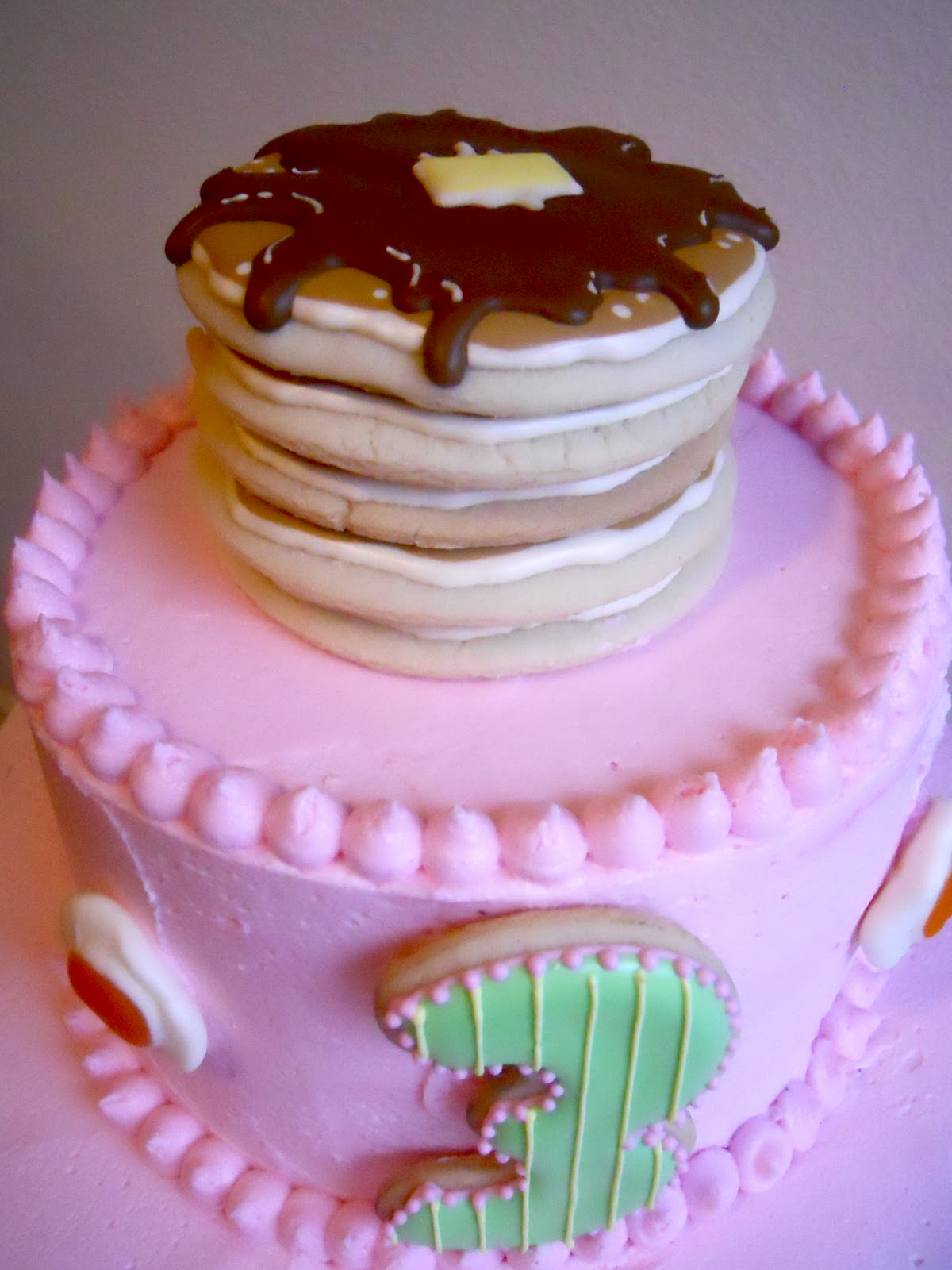 Oh Sugar Events: Pancake Breakfast Cake