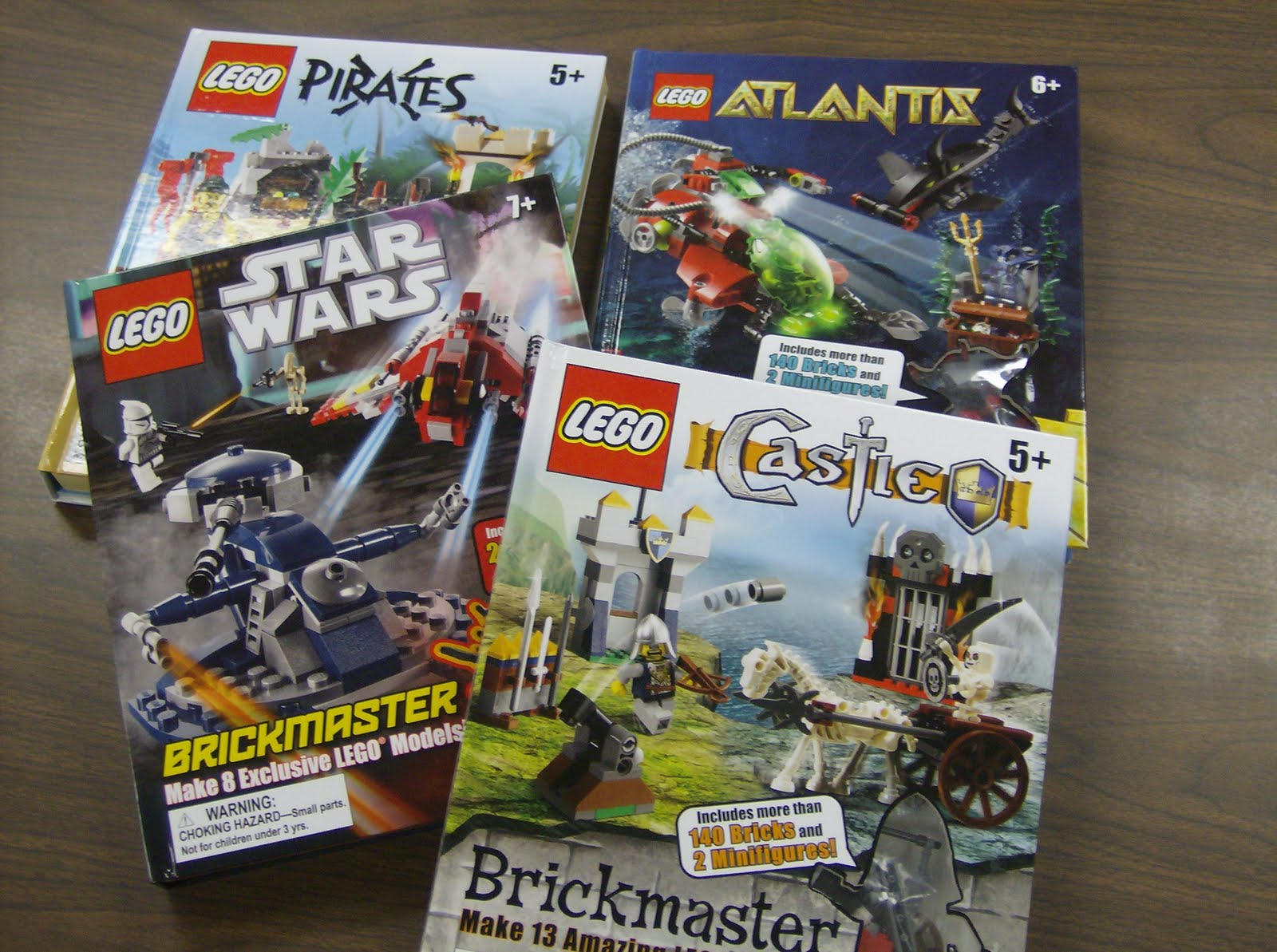 legos your library nontraditional books