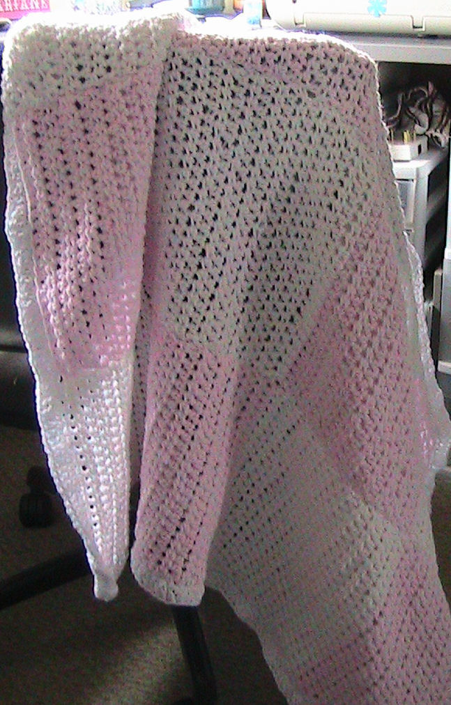 Baby Blanket all Half Double Crochet Invisible sewing technique