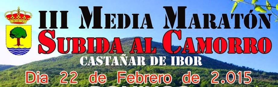III Media Maratón Subida al Camorro. Castañar de Ibor 2015