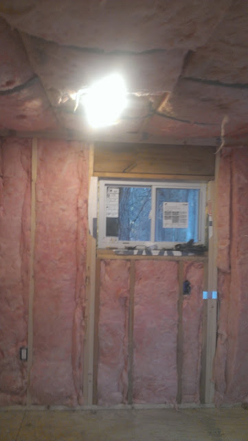 Better look at wall insulation.